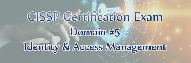 CISSP Exam Domain 5