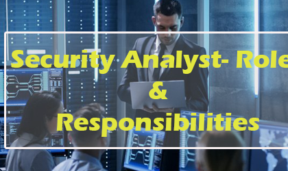 Security Analyst Roles and Responsibilities